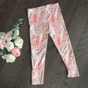 Other - 🌸 Girl's Paisley Printed Leggings